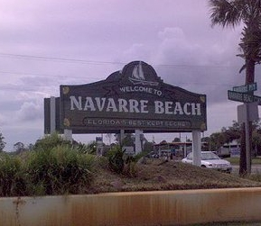 Welcome to Navarre, Florida.